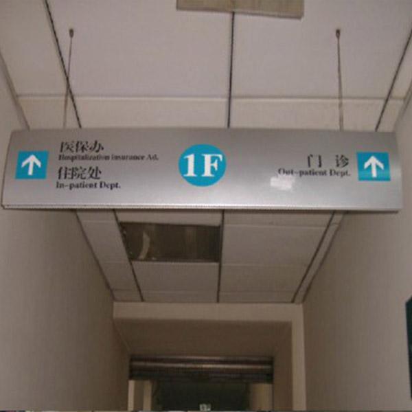 医院指示吊牌