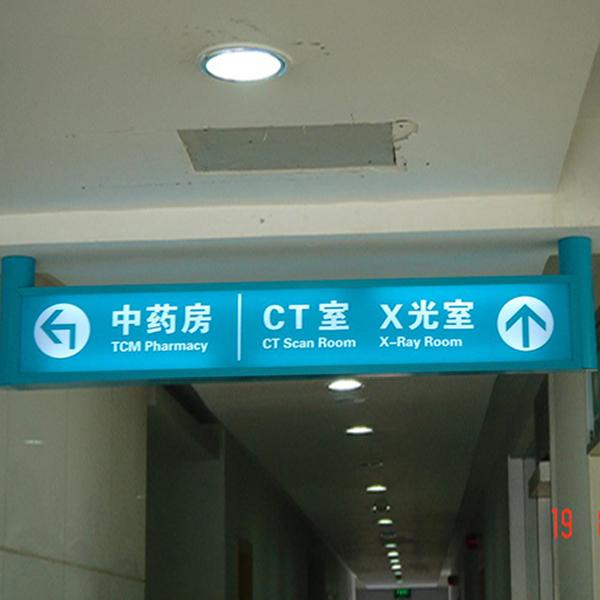 医院指示灯箱